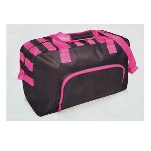 Handbags - NEW Gray & Pink Duffel Bag Gym Bag